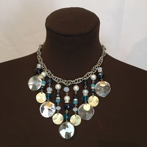 White House Black Market Turquoise Necklace